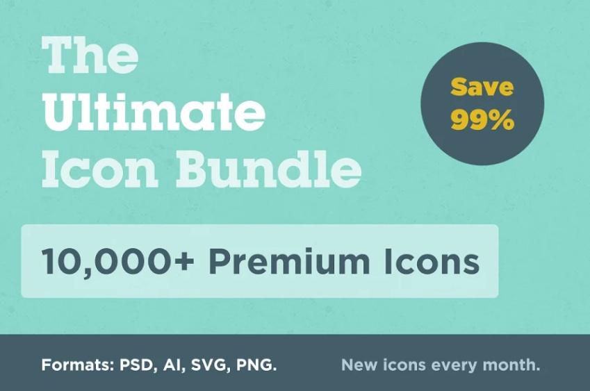 Ultmate E Commerce Icons Bundle