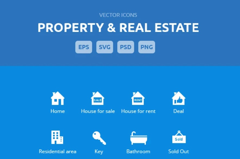 Property and Housing Icons