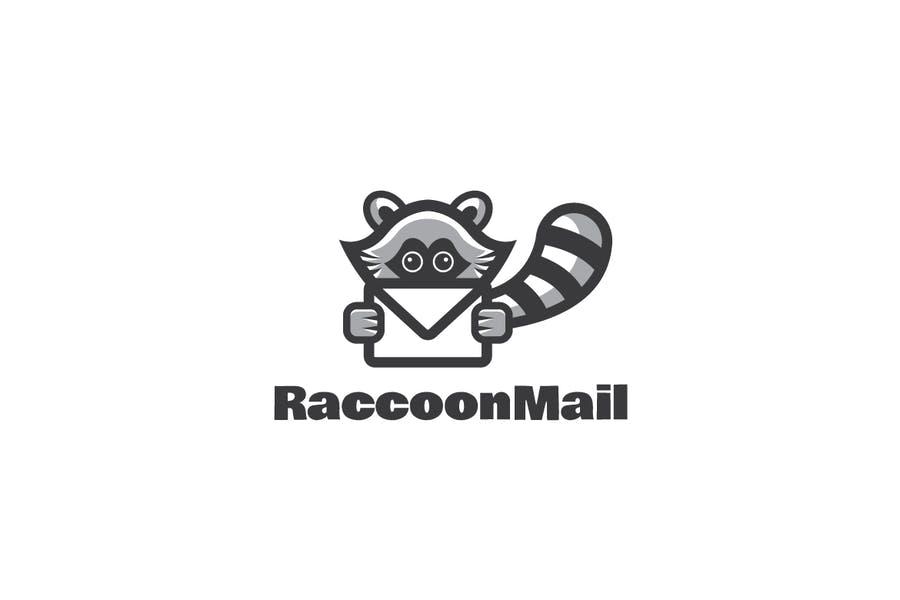 Raccoon Mail Identity Design