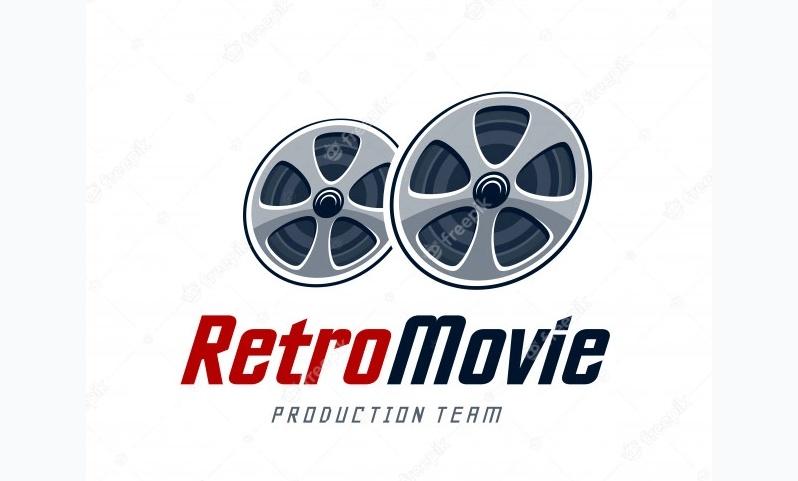 Retro Movie Identity Design