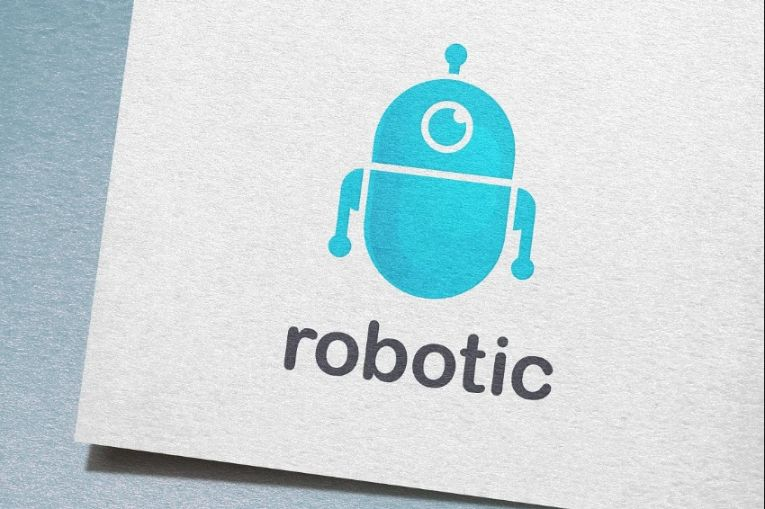 Robotic Character Logo Design
