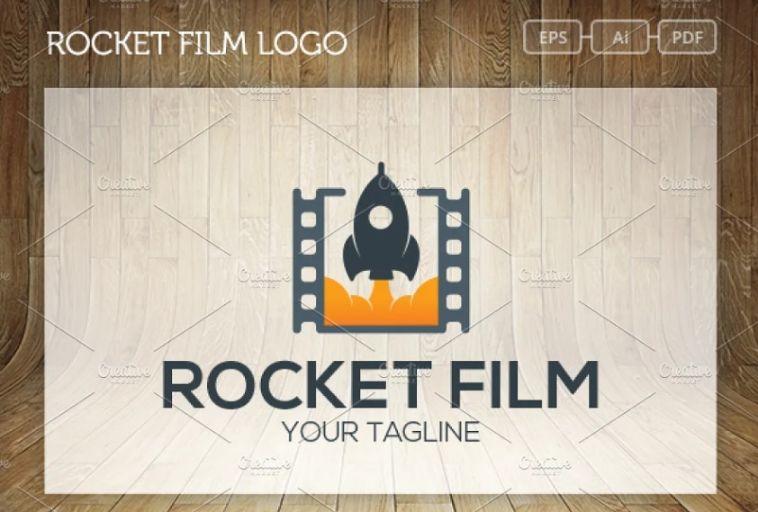 Rocket Film Identity Design