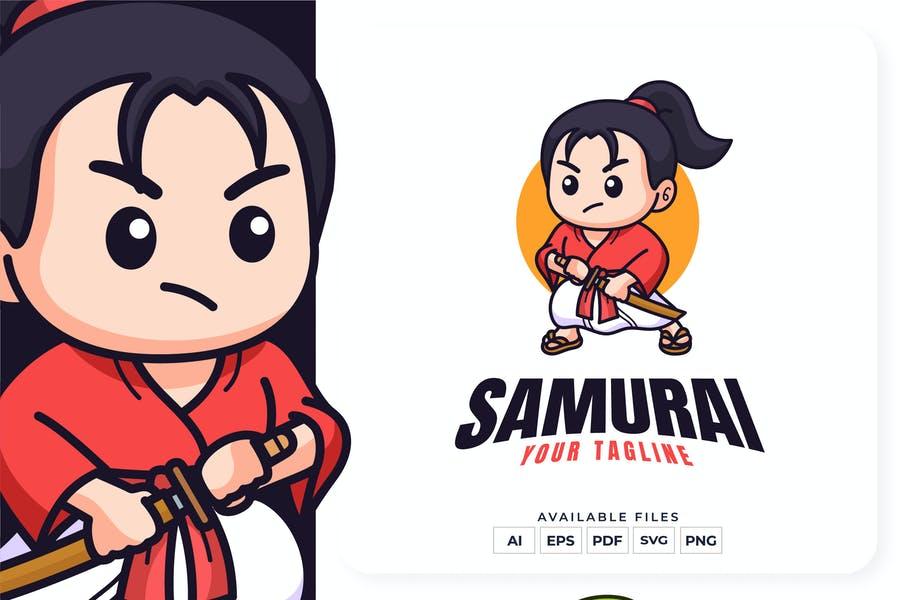 Samurai Kid Identity Design