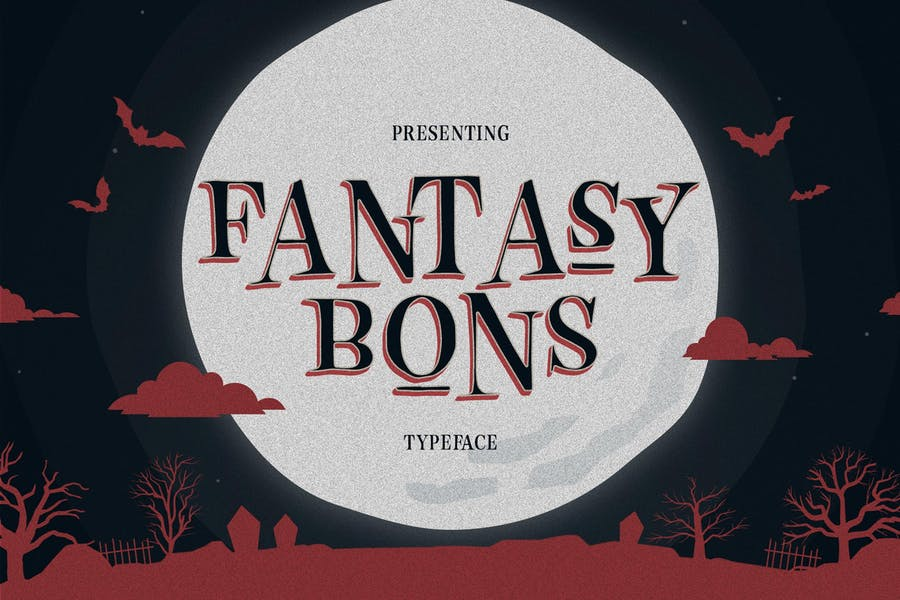 Scary and Fantasy Fonts