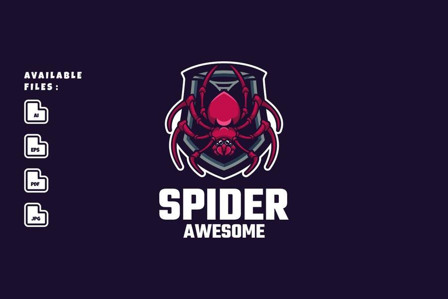 Shield Style Spider Identity Design