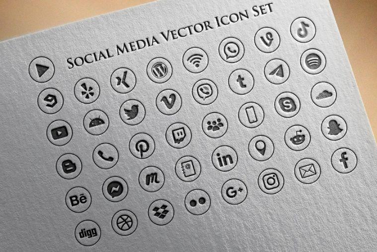 Social Media Symbols Pack