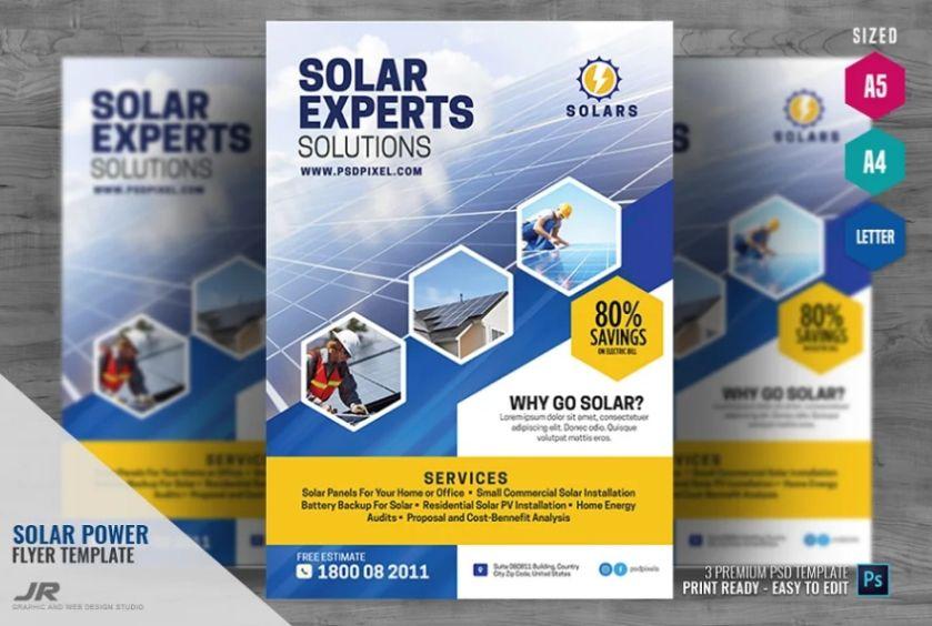 Solar Energy Promotional Templates
