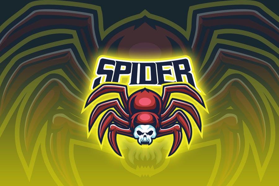Spider Escort Logo Design