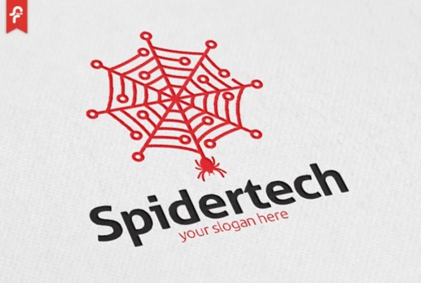 Spider Tech Logo Design