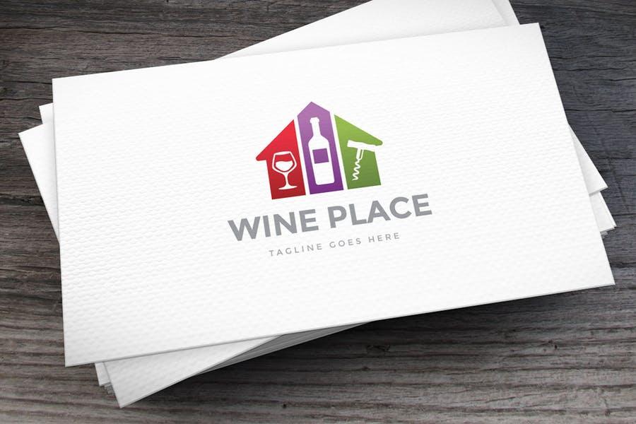Stylish Wine Identity Design