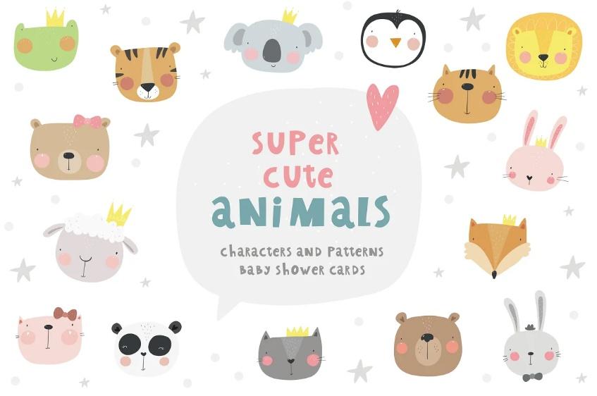Super Cute Animal Illustrations