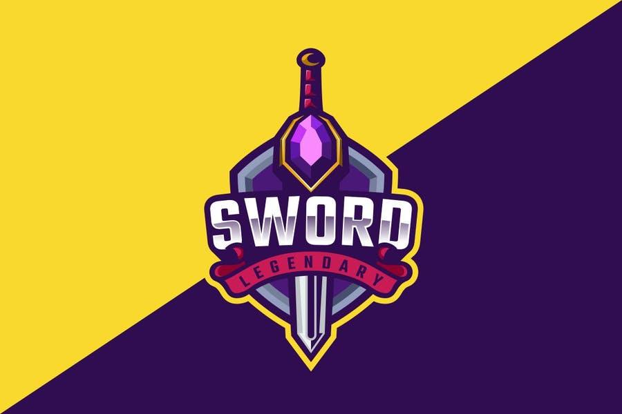 Sword Mascot Identity Design