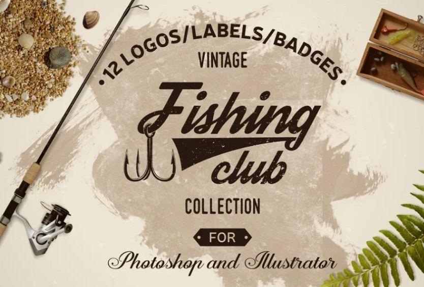 Vintage Fishing Club Logo