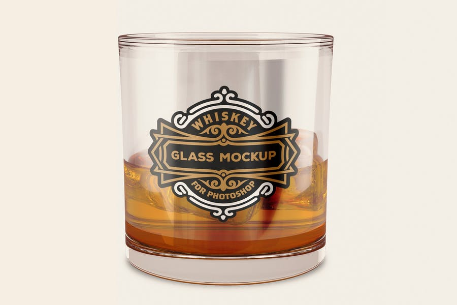 Whiskey Tumbler Mockup PSD
