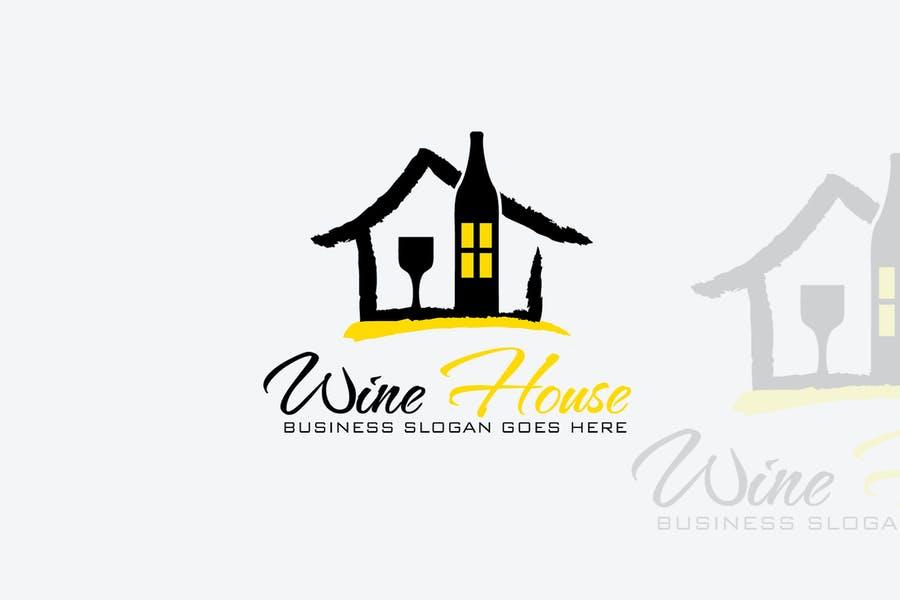 Wine House Logo Templates