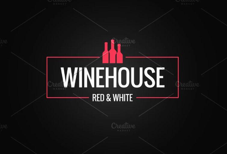 Wine House Style Logo Templates