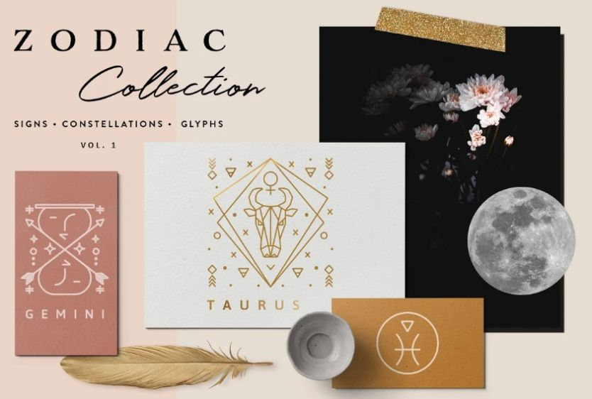 Zodiac and Constellation Icons