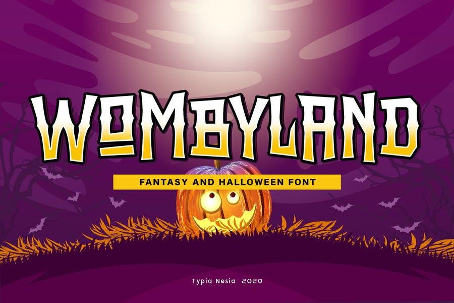 halloween and Zombie Style Fonts