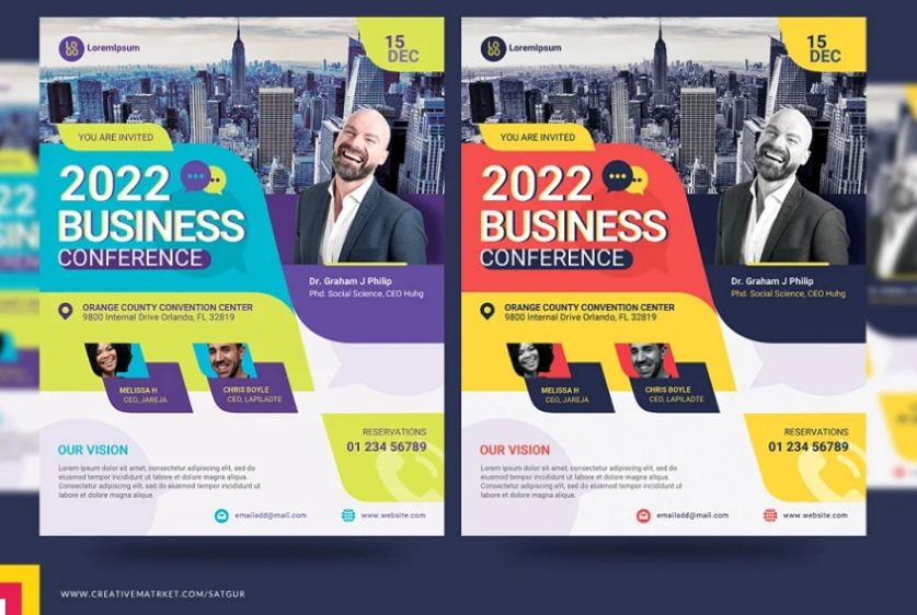 Annual Summit Flyer Template