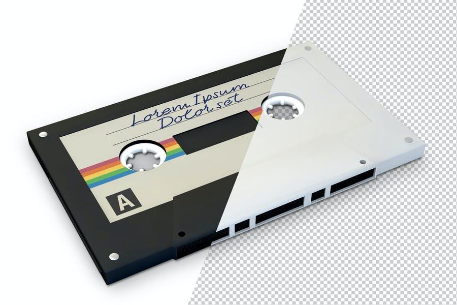 Cassette Label PSD