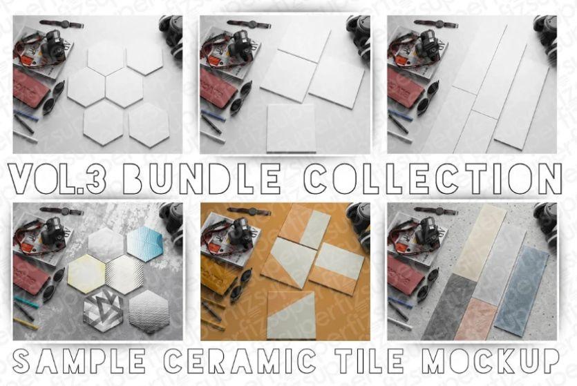 Essential Tile Mockup PSD