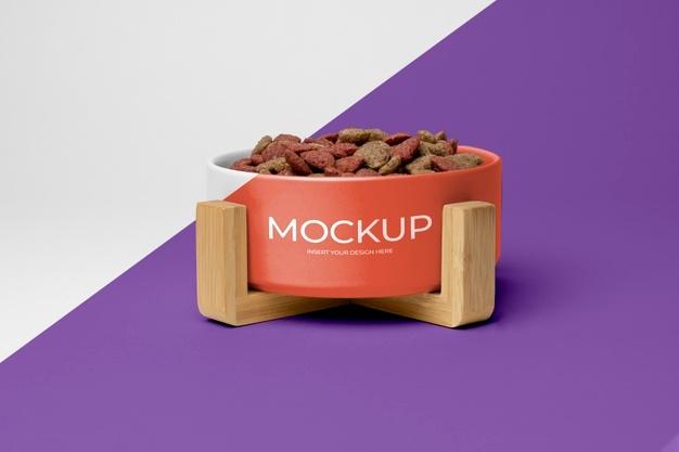 Free Dog Food Mockup PSD