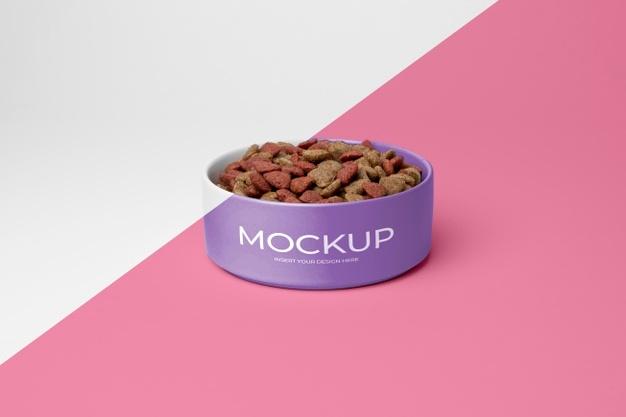 Free Pet Food Mockup PSD
