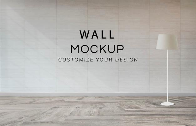 Free Wall Mockup PSD