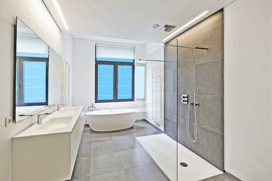 Modern Bathroom Mockup Set
