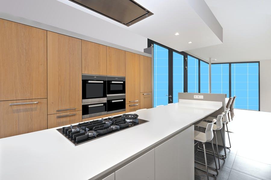 Professional Modern Kitchen Mockup