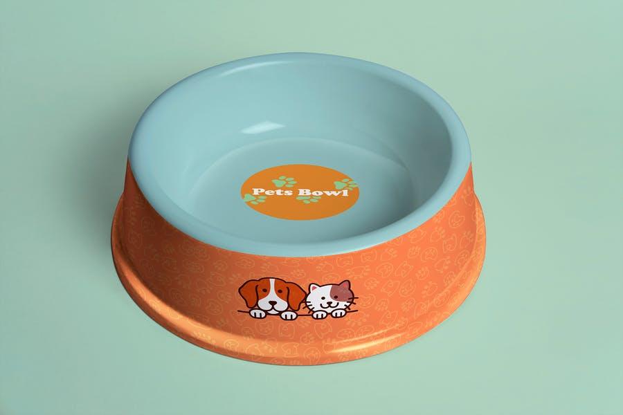 Simple Pets Bowl Mockup