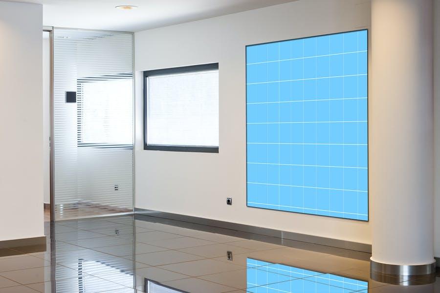 Simple Room Mockup PSD