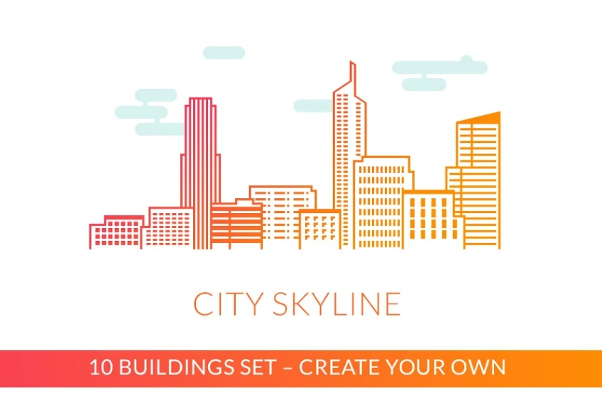 10 City Skyline Icons