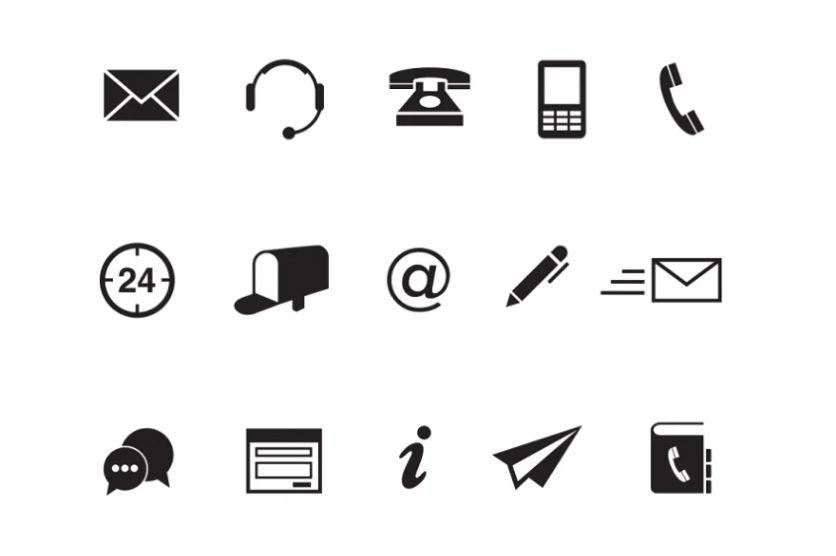 15 Unique Communication Icons