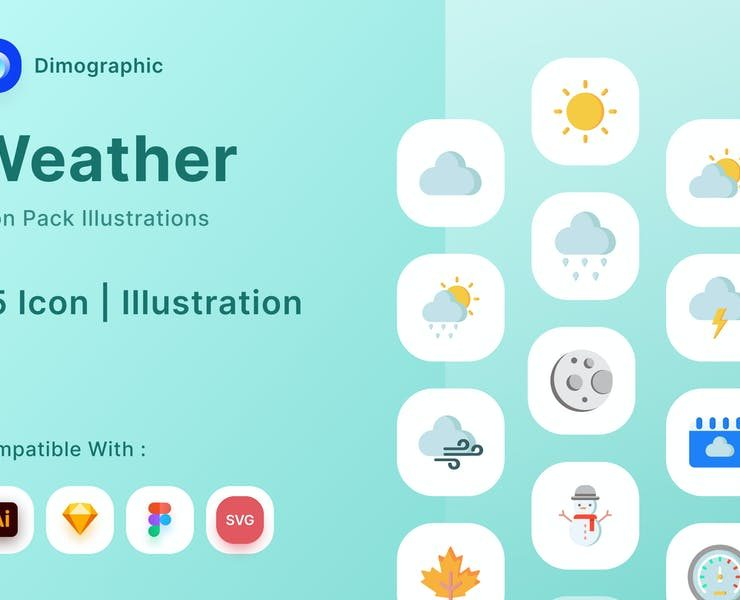 21+ FREE Weather Icons Vector Download