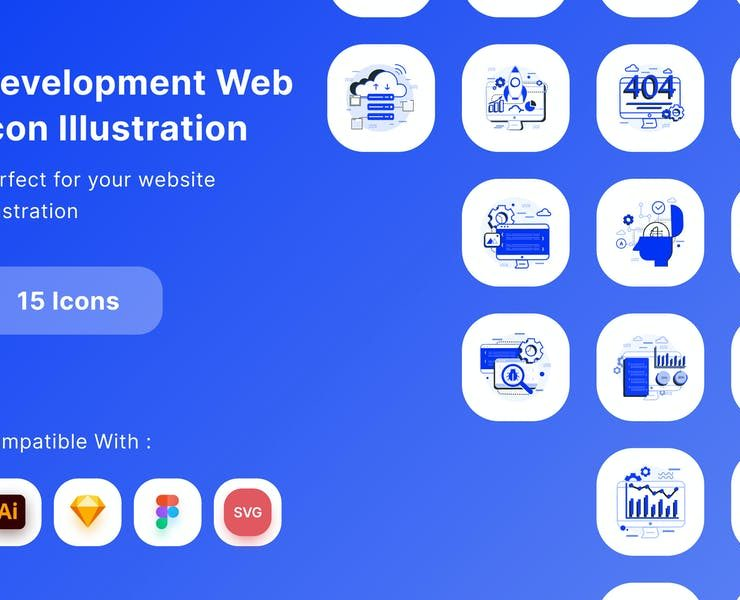 23+ FREE Web Development Icons Vector Download