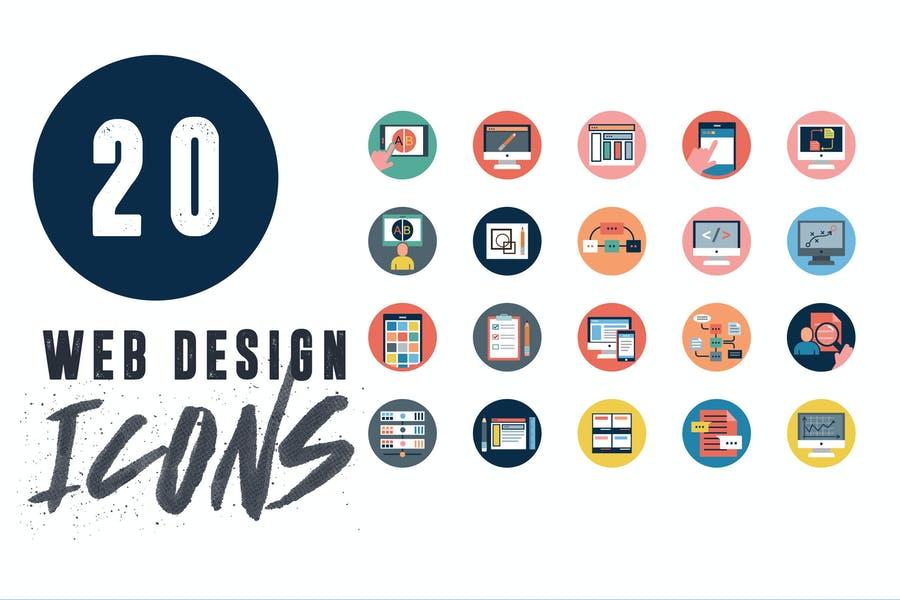 20 Web Application Icons