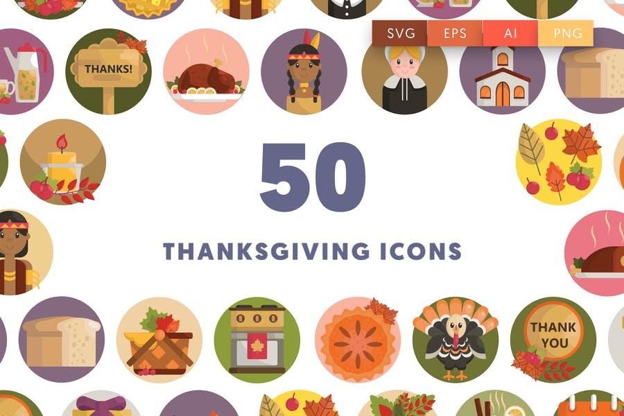 50 Unique Thanksgiving Vectors