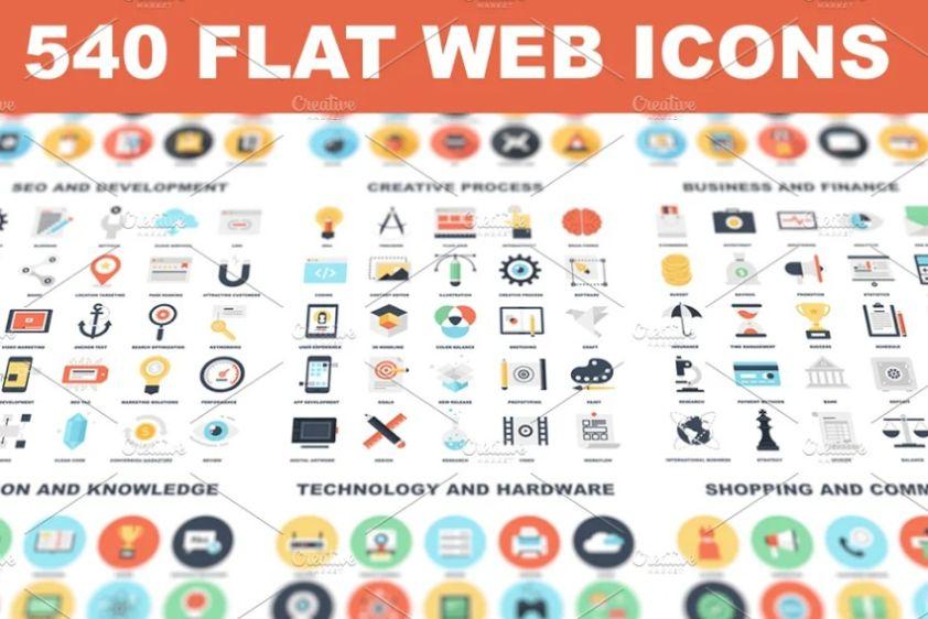 540 Simplicity Web Vectors