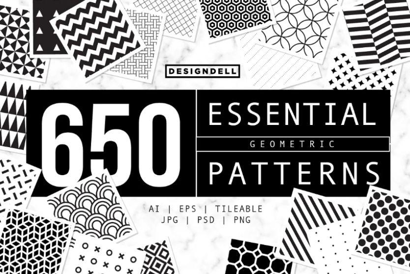 650 Geometric Pattern Designs