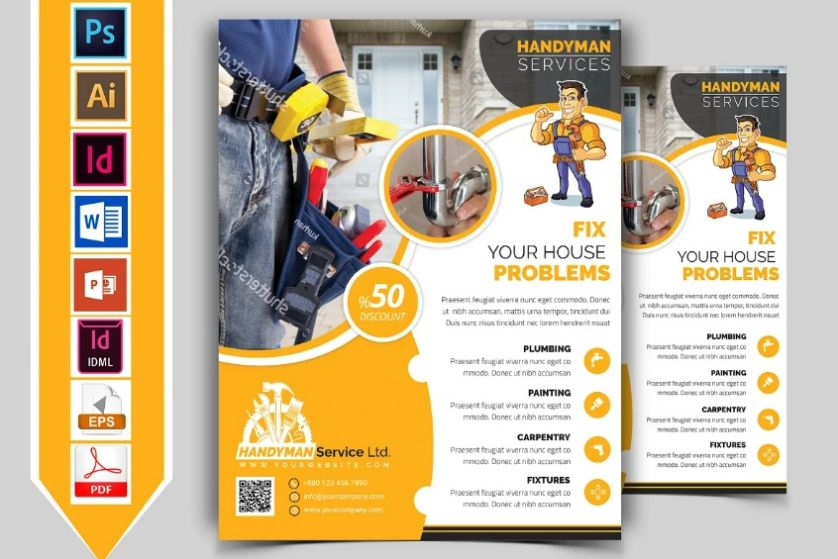 A4 and A5 Flyer Templates