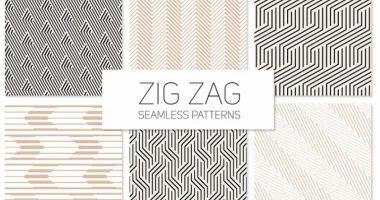 Zig zag patterns