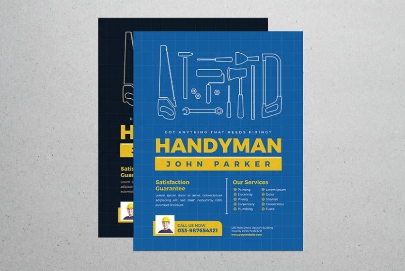 Ai Style Handyman Flyer