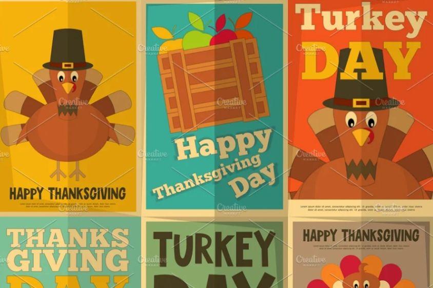 Ai Thanksgiving Poster Design