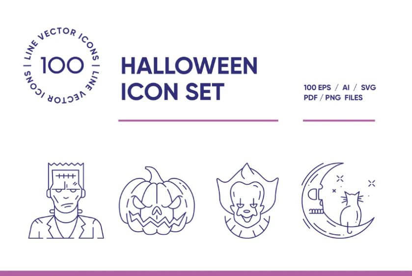Ai and EPS Vector Icon Set
