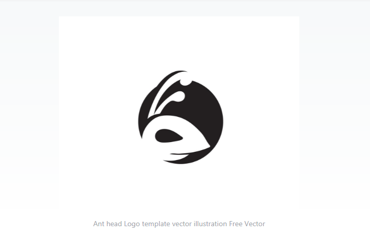 Ant Head Logo Design