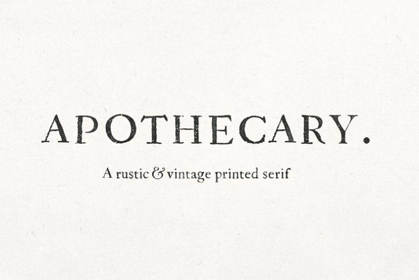 Antique Newspaper Fonts