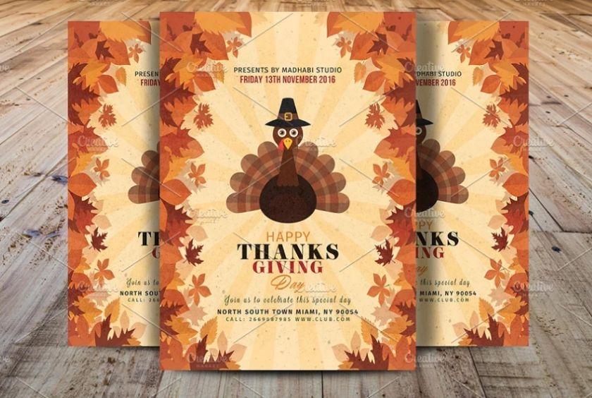 Autumn Bash Flyer Design