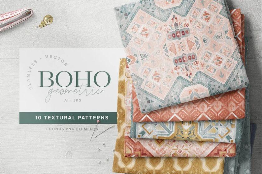 BOHO Style Textured Patterns