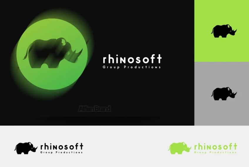 Baby Rhino Identity Design